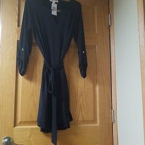 Michael Kors Size Large Black Dress
